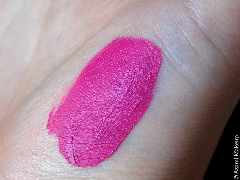 M.A.C. Cosmetics | Retro Matte Liquid Lip Colour Tailored to Tease Review & Swatches - Avis Rouge à lèvres liquide mat - Beauty Blogger Paris & London Makeup Artist