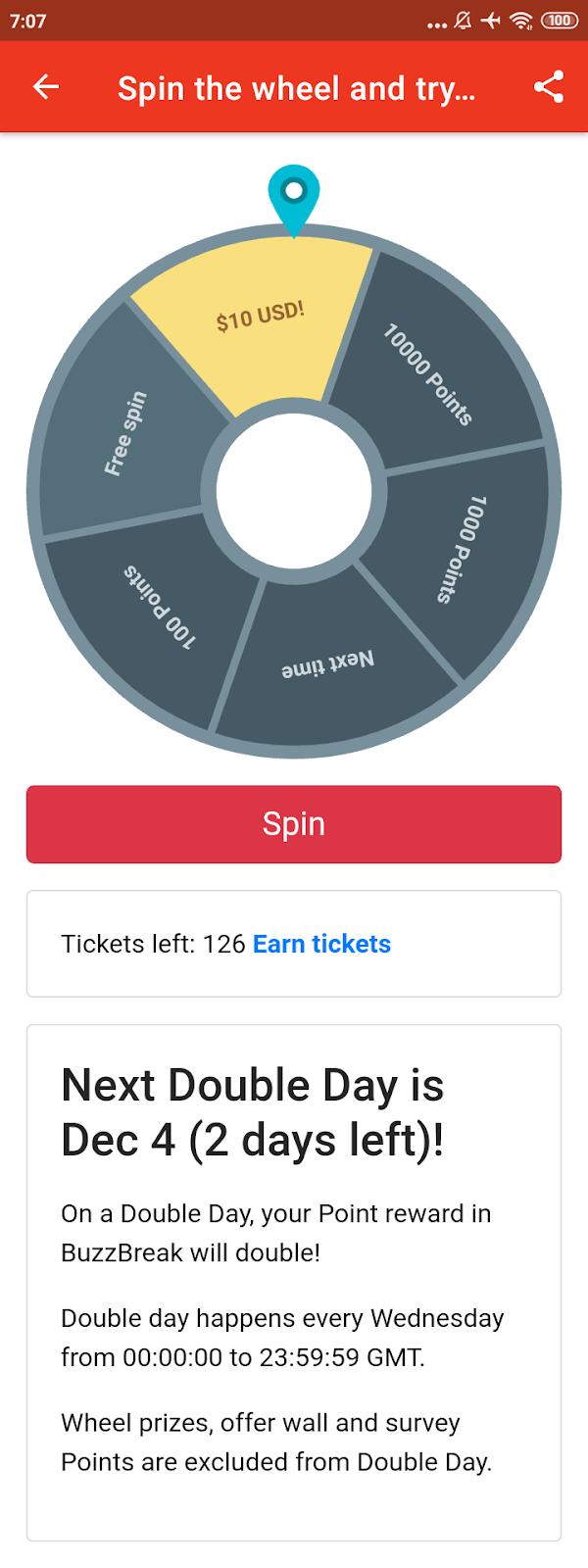 Mendapatkan hadiah dollar Paypal secara cepat Gratis $10 Dollar Dari Aplikasi Baca Berita Buzzbreak