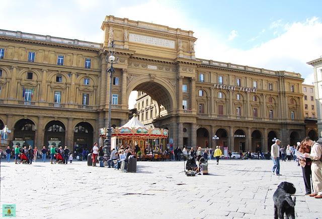 Plaza de la República de Florencia
