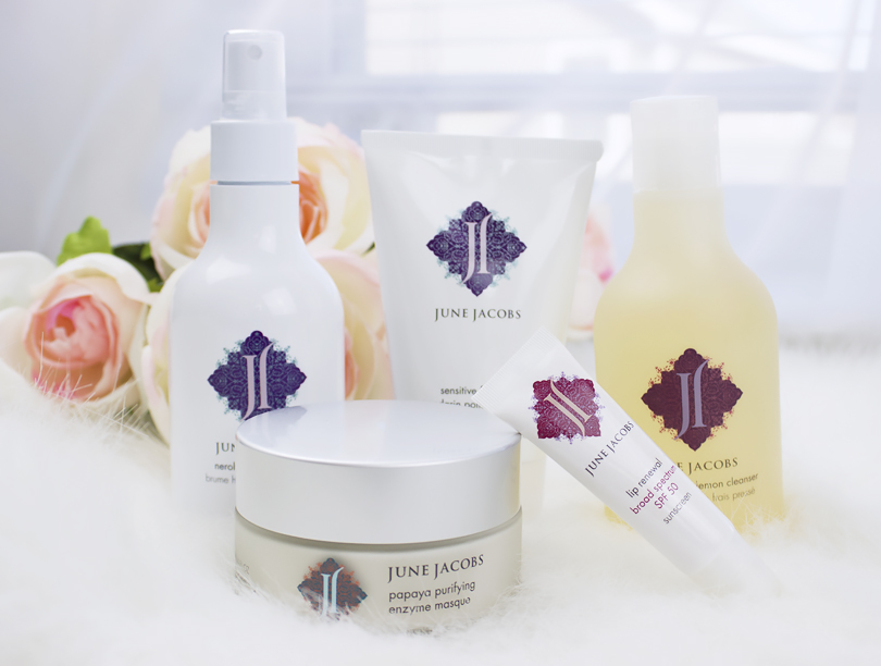 Favorite skincare at the moment: June Jacobs SPA Collection Review