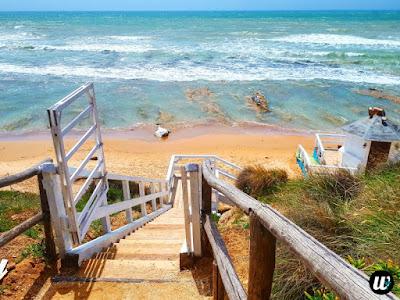 Stairs to Scala dei Turchi beach (Lido Rossello), Agrigento | Sicily, Italy | wayamaya