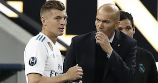 Zidane is 'the best coach' any player could ask for: Real Madrid star Kroos