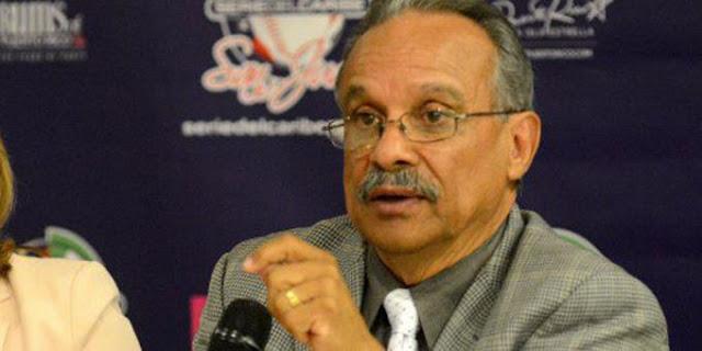 Héctor Rivera Cruz, presidente de la Liga de Béisbol profesional de Puerto Rico