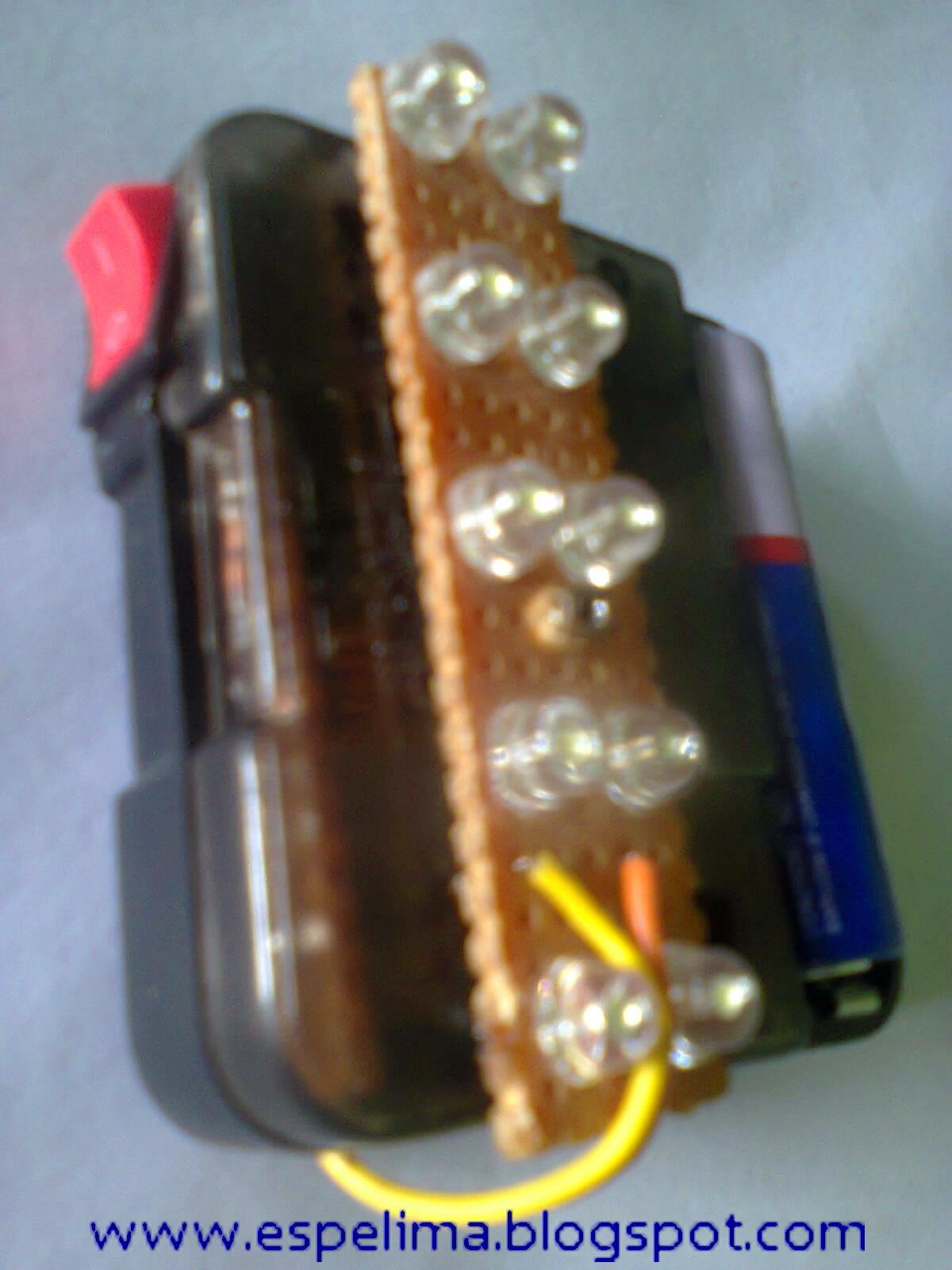 Elektro Circuit: Membuat Joule thief Emergency 10 led dgn