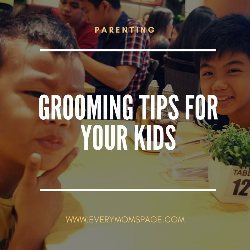 Grooming Tips For Your Kids