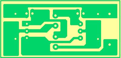Cara Membuat Lampu Kedip Skema dan Layout PCB Komplit