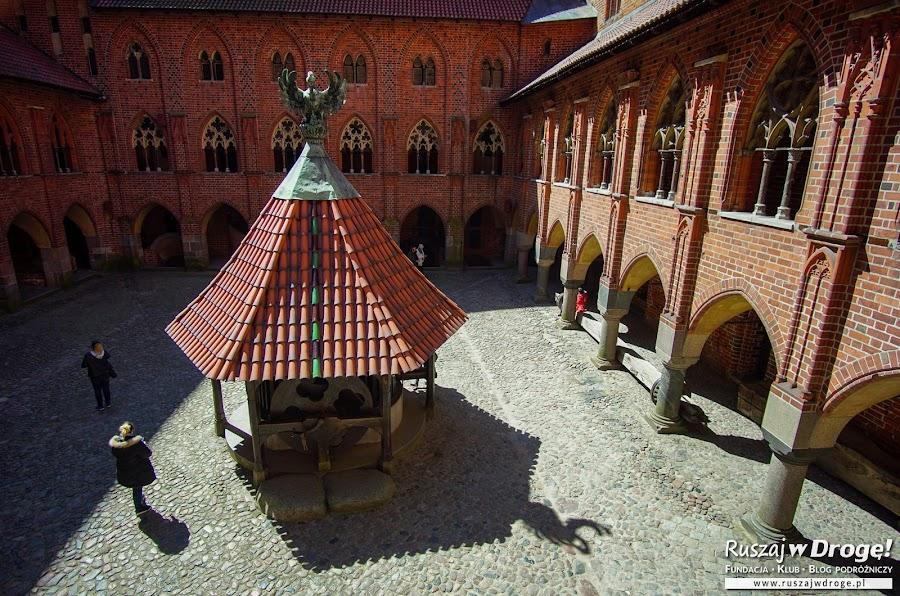 Na zamku w Malborku