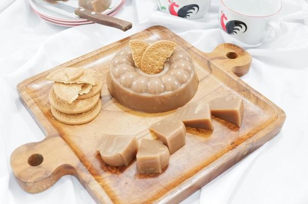 Cara memasak pudding nutrijell kelapa muda regal