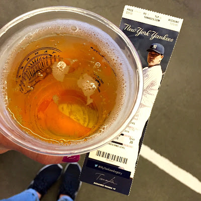 Beer and ticket