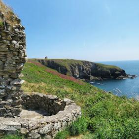 Ardmore Cliff Walk views