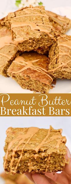 Easy Peanut Butter Breakfast Bars
