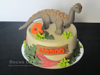 Bolo de aniversário Dinossauro