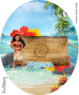Moana Toppers or Free Printable Candy Bar Labels.