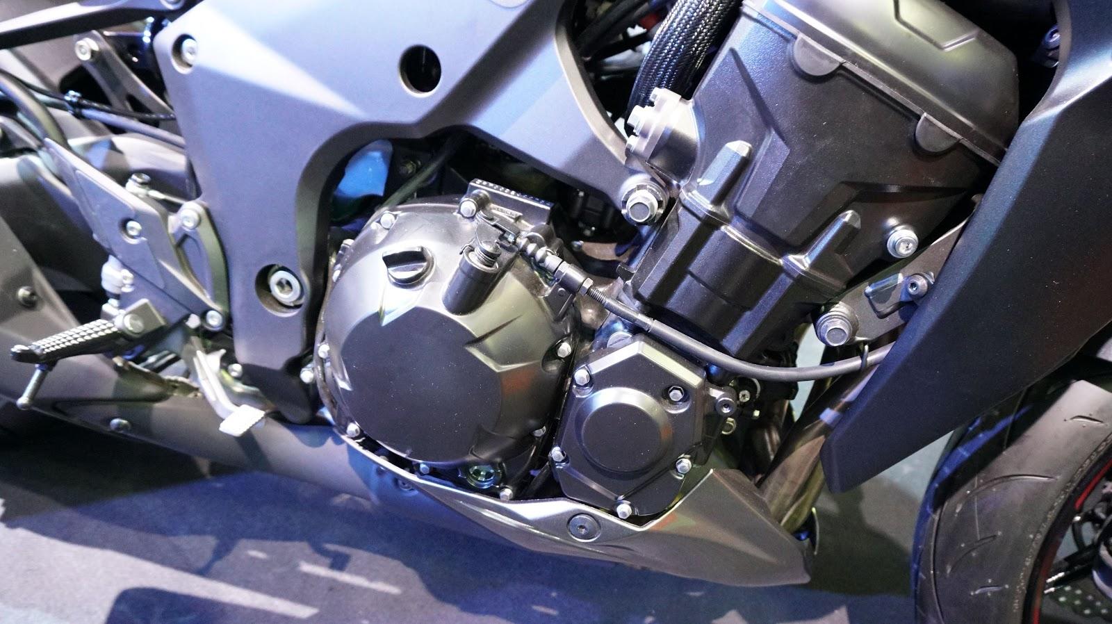 Cận cảnh siêu xe Kawasaki Z1000 ABS tại VMS 2016