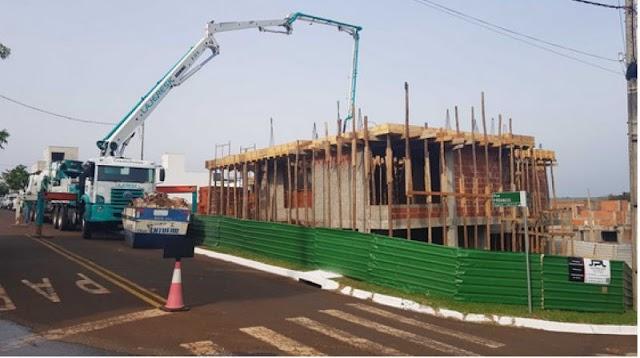 Construção civil segue em ritmo de crescimento