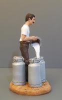 statuette di persone reali modellini realistici appassionati miniature orme magiche