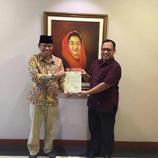 PDI P Resmi Dukung Abdiyanto - Made