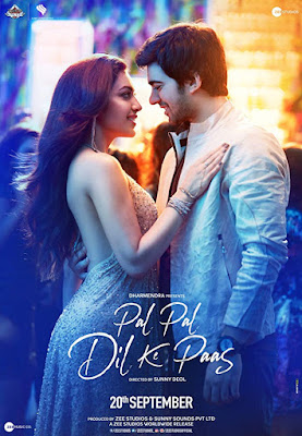 Pal Pal Dil Ke Paas 2019 Hindi 720p DVDScr 1.2GB