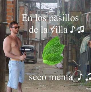 Imagenes de Humor : En los pasillos de la villa seco menta