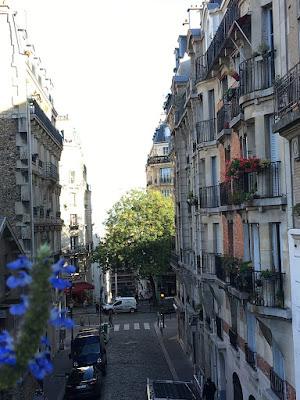 Staircase neighbourhood in Montmartre Paris