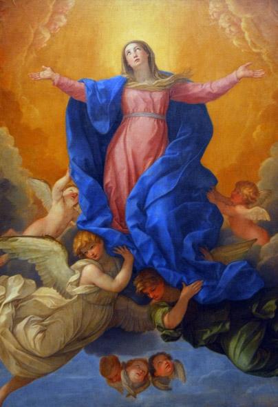 Švč. Mergelės Marijos Ėmimo į dangų ikonografija