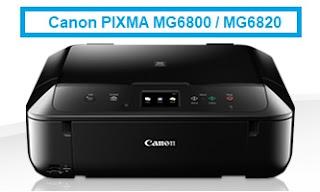 Canon PIXMA MG6800 Driver & Software Downloads