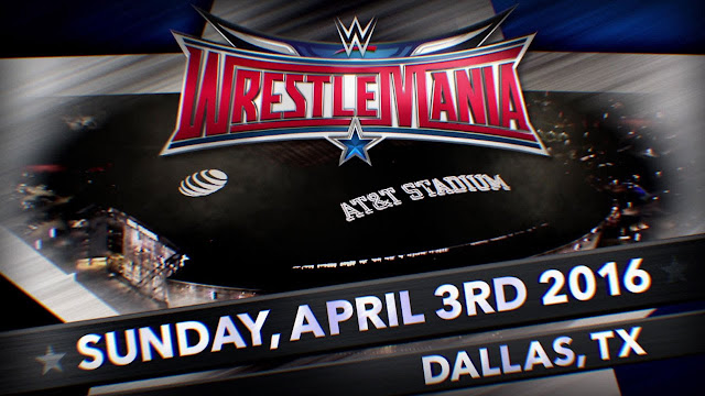 WWE Wrestlemania 32 Date Venue