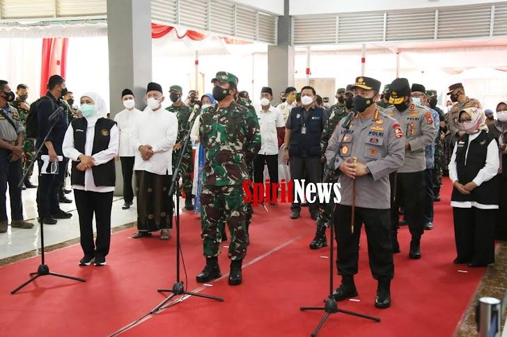 Panglima TNI Bersama Kapolri, Mari Kita Bahu Membahu Lawan Covid-19