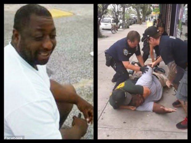 Video of Eric Garner Being Choked Caused Outraged on Netizens