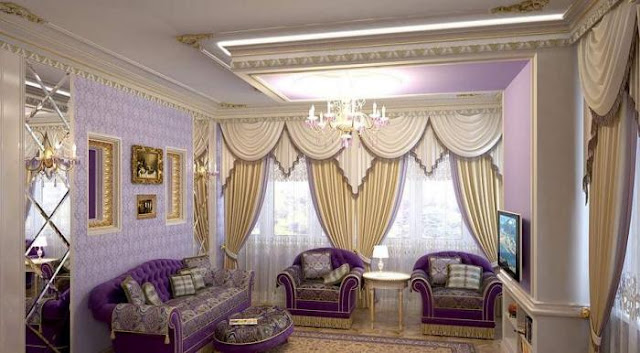 Latest curtain designs for living room with nice living room wall color combination and wonderful ceiling lighing