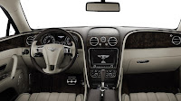 The All-New Bentley Flying Spur dash