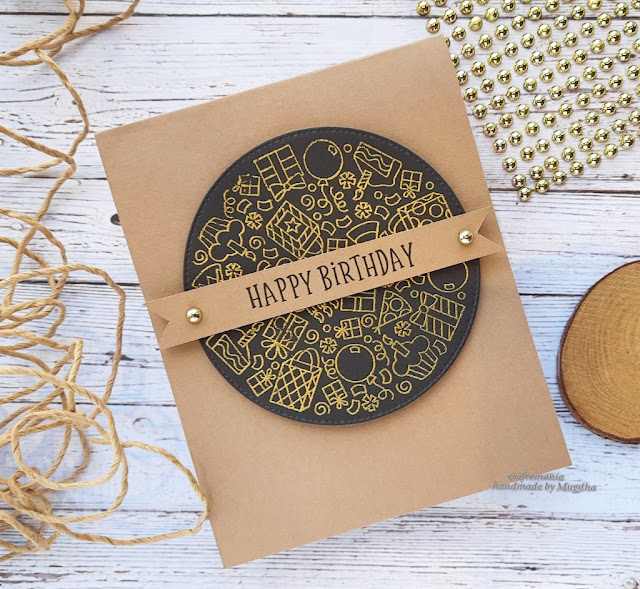Birthday Cards by April Guest Designer Mugdha Gujarathi | Birthday Roundabout Stamp Set and Circle Frames Die Set by Newton's Nook Designs #newtonsnook #handmade