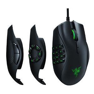 เมาส์เกมมิ่ง ไร้สาย RAZER Gaming Mouse Naga Trinity Chroma RGB