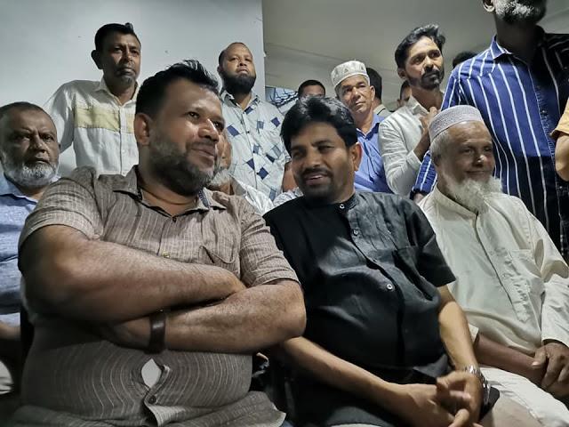 அலிசப்ரியை அவசரமாக சந்தித்த ACMC தலைவர் ரிஷாத் பதியுதீன்