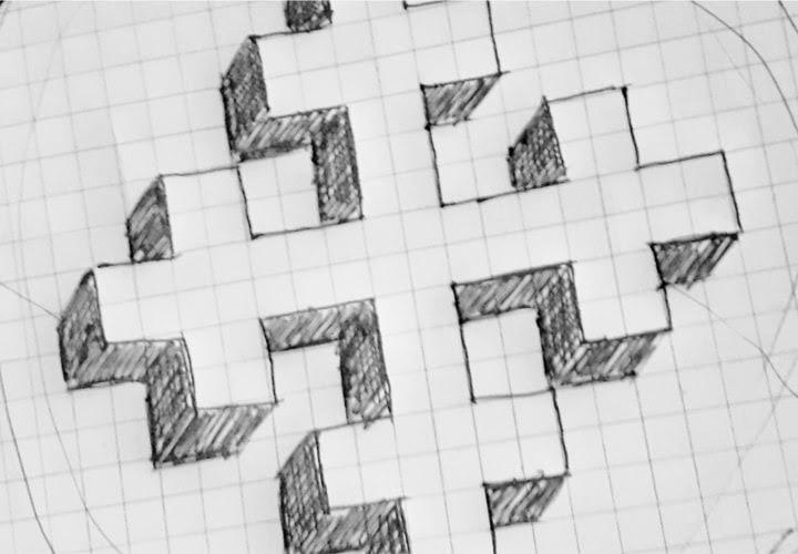 How to draw a Greek Cross