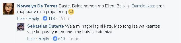Baste Duterte Denies Ever Breaking Up With Non-Showbiz Girlfriend. Does this Mean He Only Used Ellen Adarna?