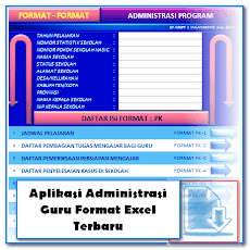 Unduh Aplikasi Administrasi Guru Format Excel Terbaru