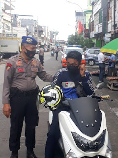 Disiplin Protokol Kesehatan, Polres Pelabuhan Makassar terus lakukan Operasi Yustisi