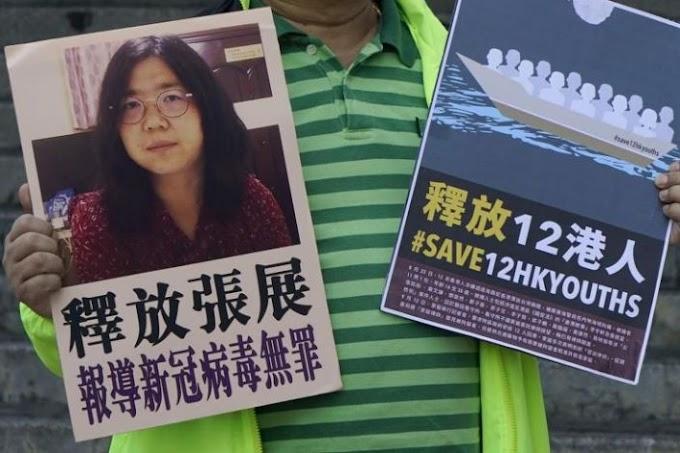 A China condena o jornalista cidadão que reportou COVID-19 em Wuhan a 4 anos de prisão