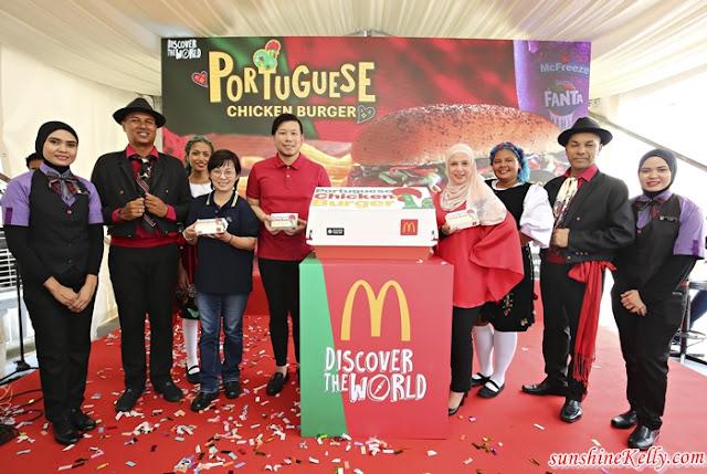 McDonald's, McDonald's Malaysia, Portuguese Chicken Burger, McD, Dinosaur McFlurry, Fanta Grape McFreeze, Food, McDonald's, Burger, New Burger
