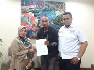 Perwakilan Media MPGI News Dan Advokat ABI Menyampaikan Keluhanan Masyarakat, Terkait Pembalakan Hutan Di Sodong Walet.