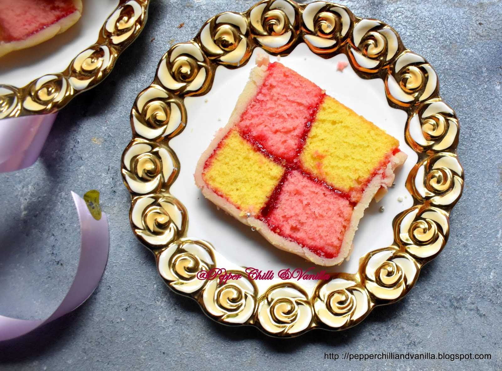 easy battenberg cake recipe with homemade marzipan