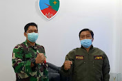 Danlanud Husein Sastranegara Kolonel Pnb Bonang Bayu Aji Gautama Terima Audiensi Jurnalis Bela Negara