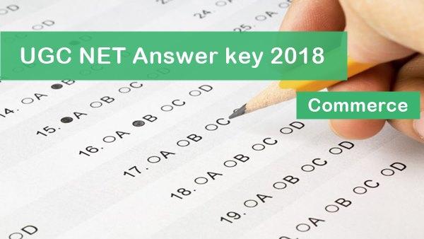 UGC NET  Commerce Answer Key