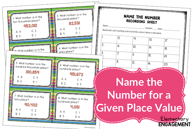 Awesome Place Value Task Cards!