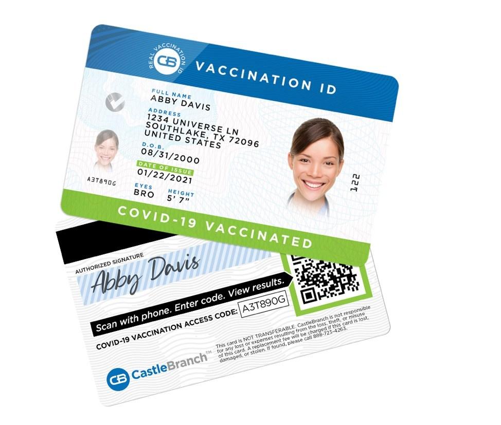Uptick in falsified COVID-19 vaccine cards in USA poses major risk