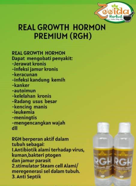 Real Growth Hormon Premium (RGH) Zeeida