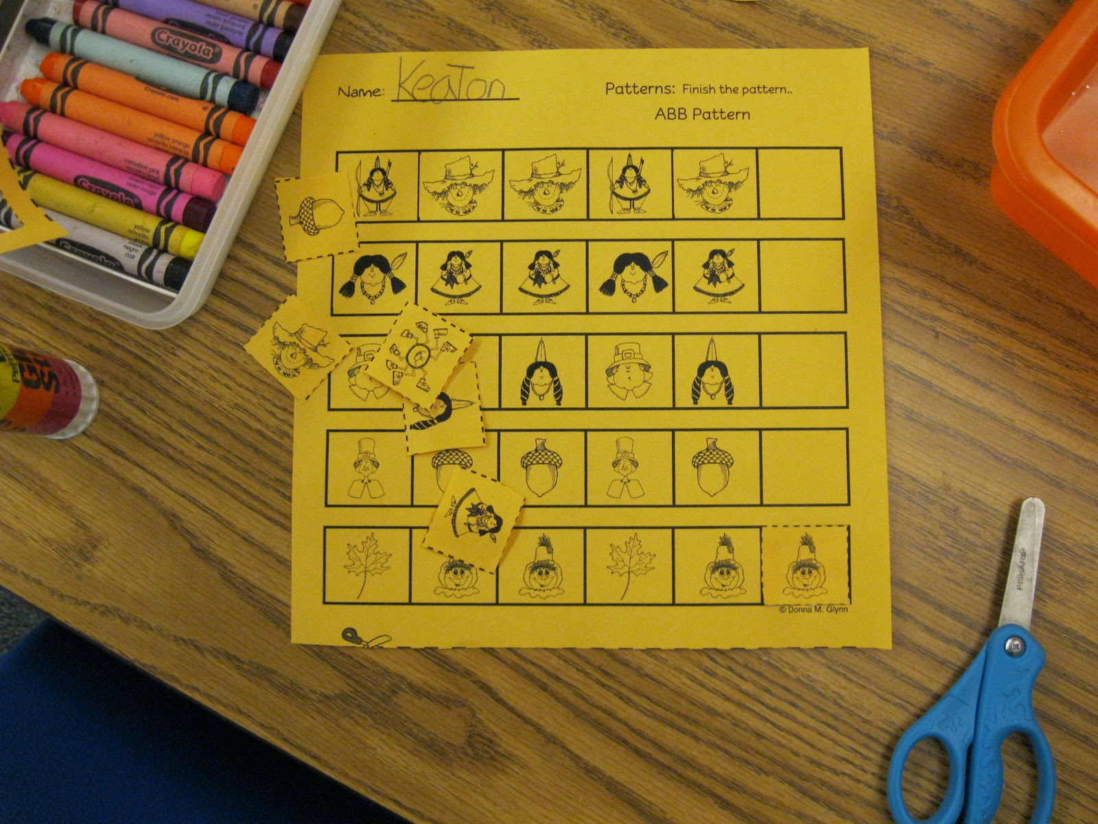 For The Love Of Kindergarten Totally Fun Pattern Centers