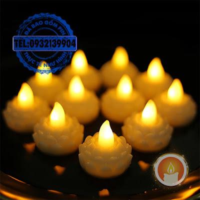 Đèn led hoa sen thả nước