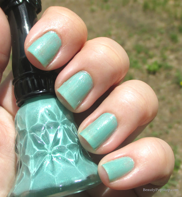 anna sui nail polish S101 swatch and review
